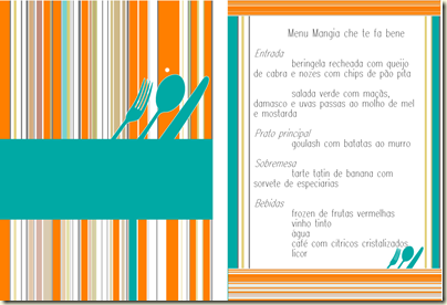 Interblog Mangia che te fa bene menu